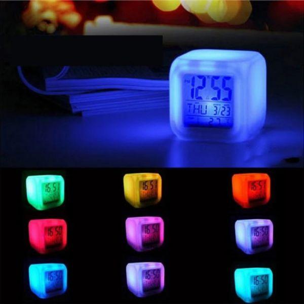 Battle Royale LED 9 colors changing digital clock