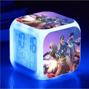 Battle Royale LED color changing digital clock