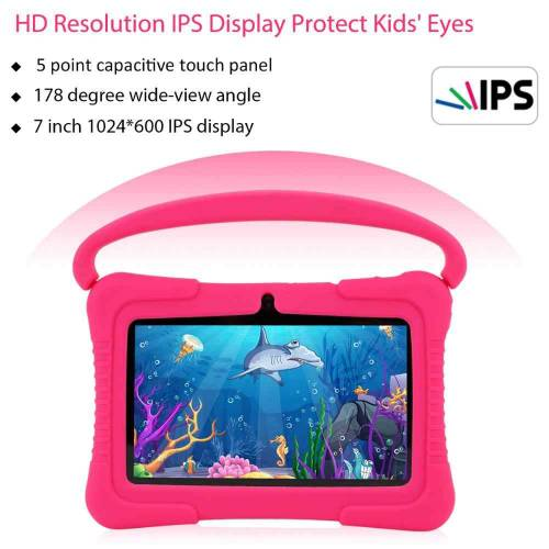 Kids tablet that parents can control with extremely high resolution