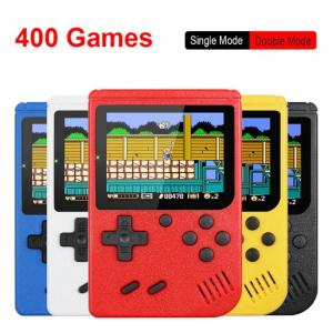 8 Bit retro handheld game console with 400 built-in games