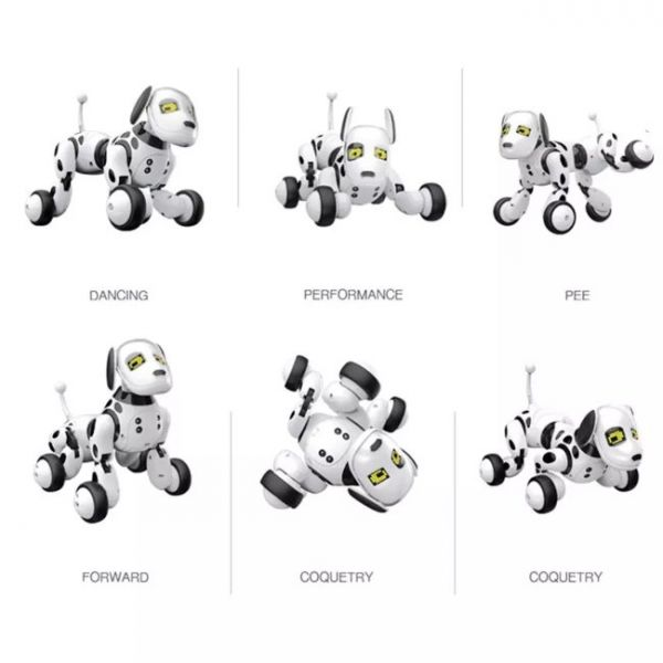 artificial intelligence programmable robot dog with multiple modes