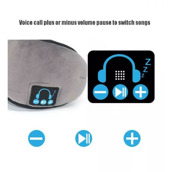 wireless sleeping eye mask with music and voice call