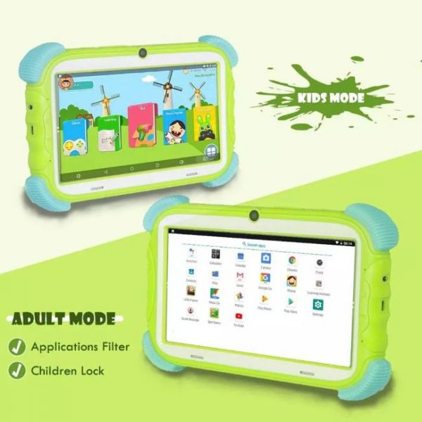Kids tablet that parents can control with kids and adult mode