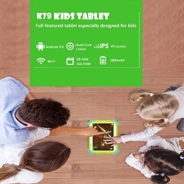Educational Kids tablet that parents can control