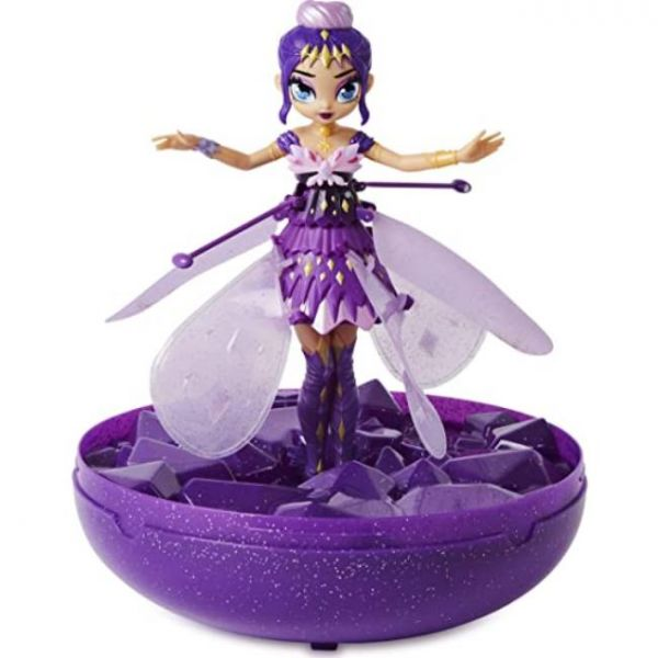 flying fairy with hand induction and base (purple)