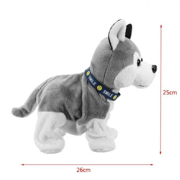 Smart dog toy that interacts with sound - Dimensions