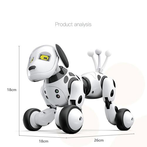 artificial intelligence programmable robot dog - Dimensions