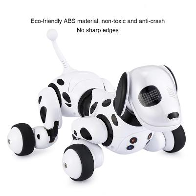 artificial intelligence programmable robot dog with safe materials