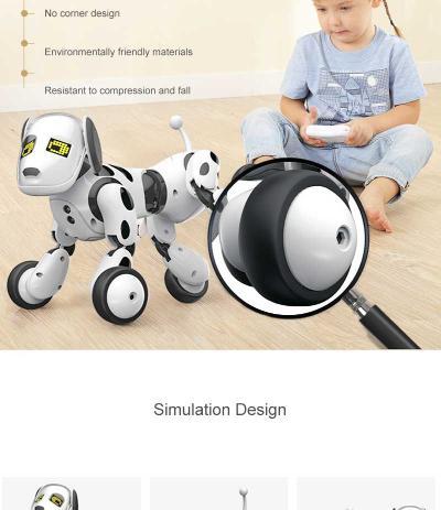 artificial intelligence programmable robot dog