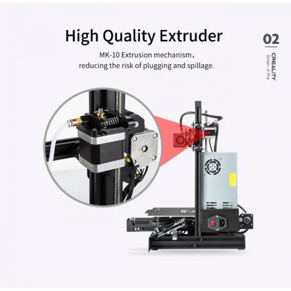 Creality fast and high precision 3d printer with high exrusion