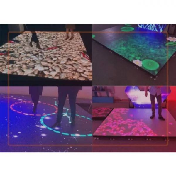 intelligent interactive floor with move sensor and various uses