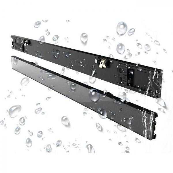 thin digital singage screen for shelves of stores that is fully waterproof
