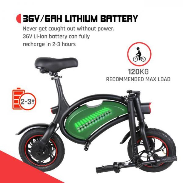 Easy foldable electric bike with high capacity battery