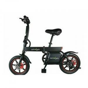 Easy foldable electric bike