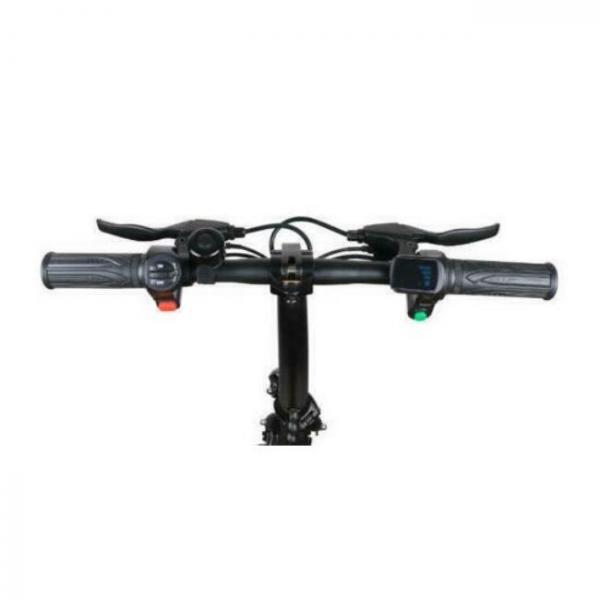 Easy foldable electric bike - steering wheel