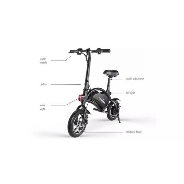 Easy foldable electric bike with multiple features