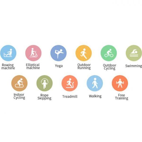 Xiaomi Mi Band 5 health smart watch with 11 sports modes