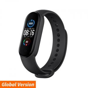 Black Xiaomi Mi Band 5 health smart watch