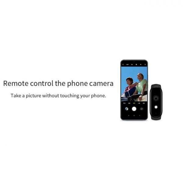 Xiaomi Mi Band 5 health smart watch with remote control camera