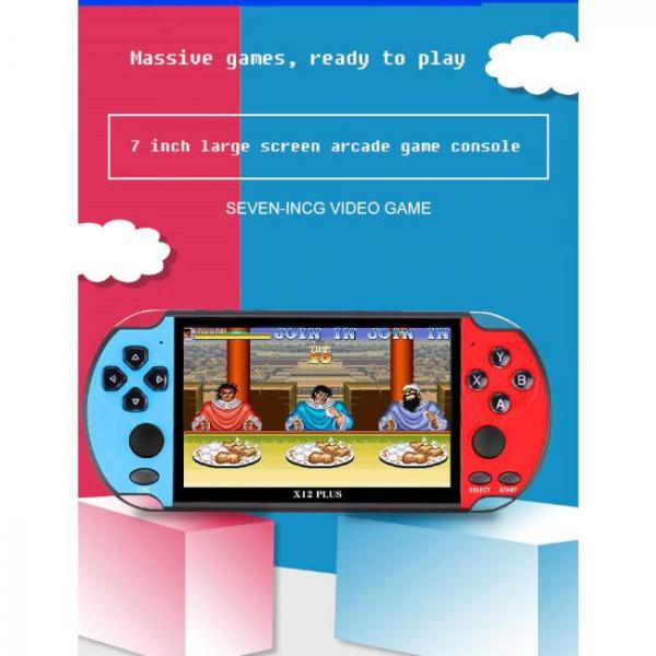 powerful handheld game console that supports PS1 and SNES games with large sceen