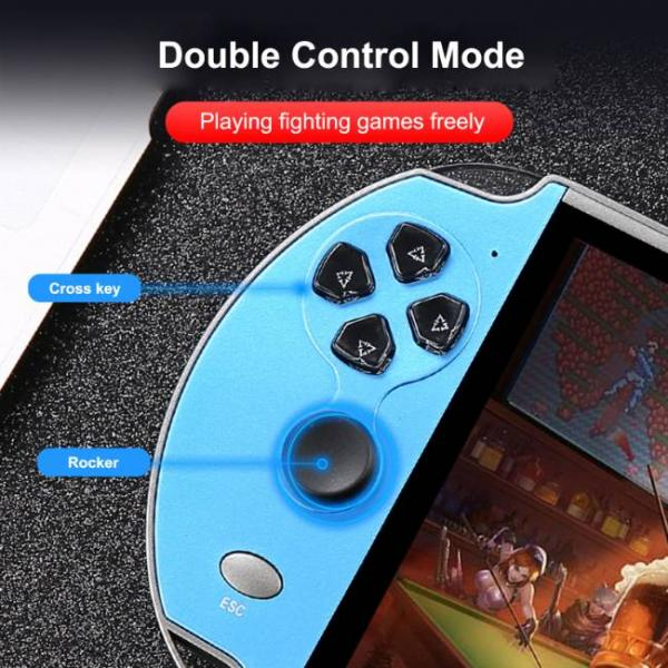 powerful handheld game console that supports PS1 and SNES games that you can play games easily