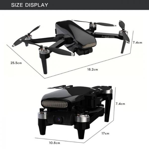 durable and stable drone with Sony HD Camera - Product Size