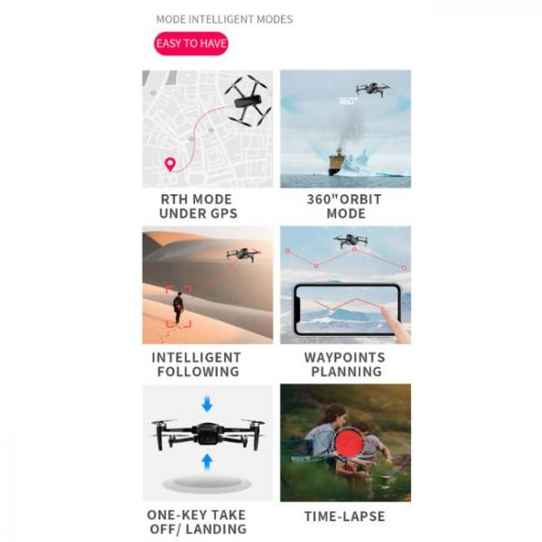 durable and stable drone with Sony HD Camera with various modes of fly
