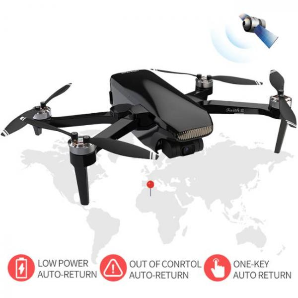 durable and stable drone with Sony HD Camera with low power auto return