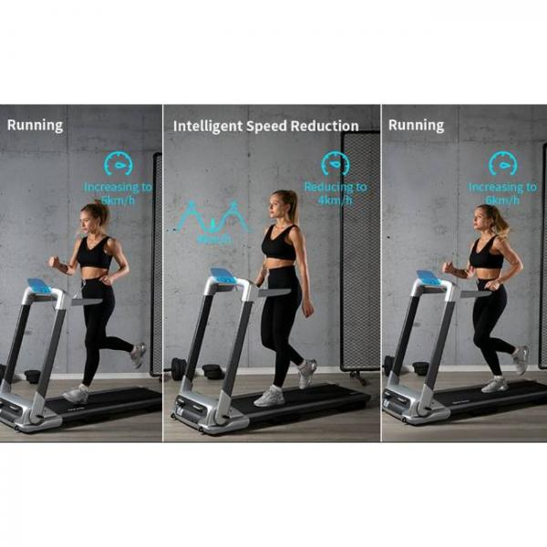 smart bluetooth walking and running electric machine with multilple workouts