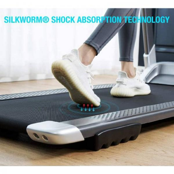 smart bluetooth walking and running electric machine with shock absorption technology