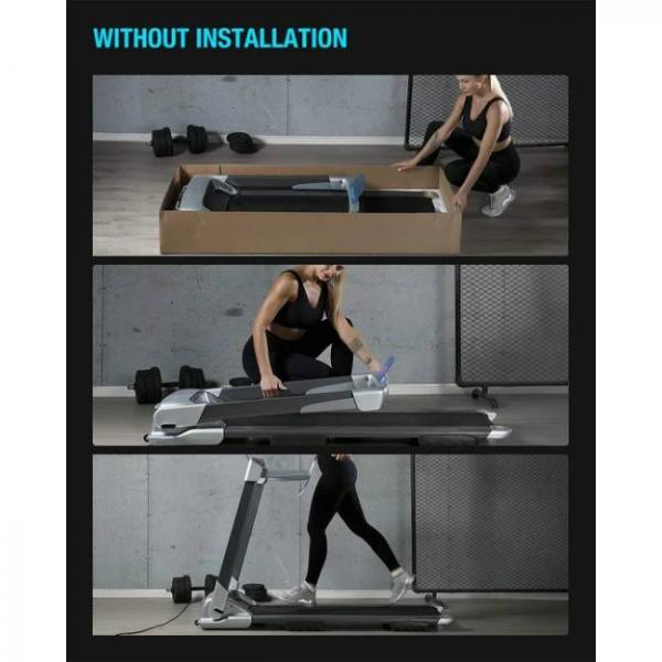 smart bluetooth walking and running electric machine easy to fold and place