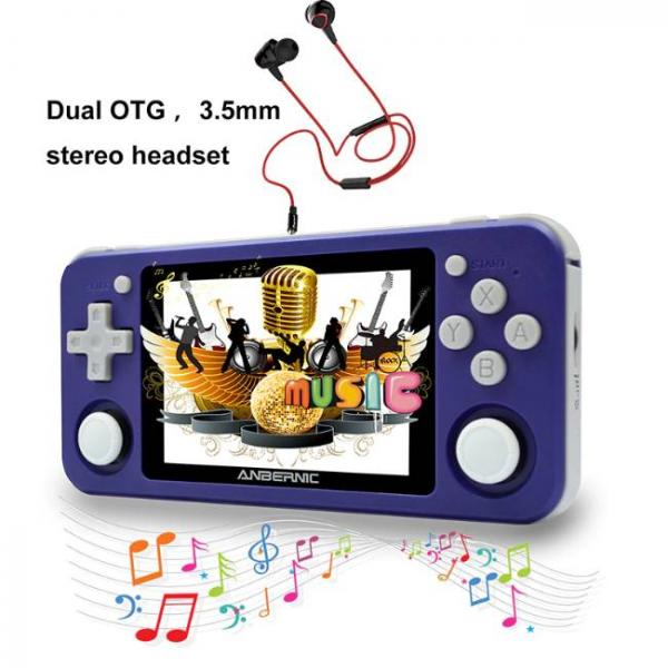 portable game console with PS1 and N64 games with strong speaker