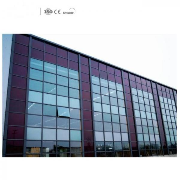 transparent solar panel film with high absorption for big buildings