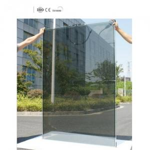 transparent solar panel film with high absorption