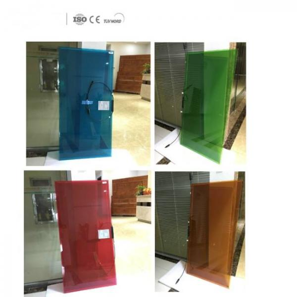 transparent solar panel film with high absorption and various colors