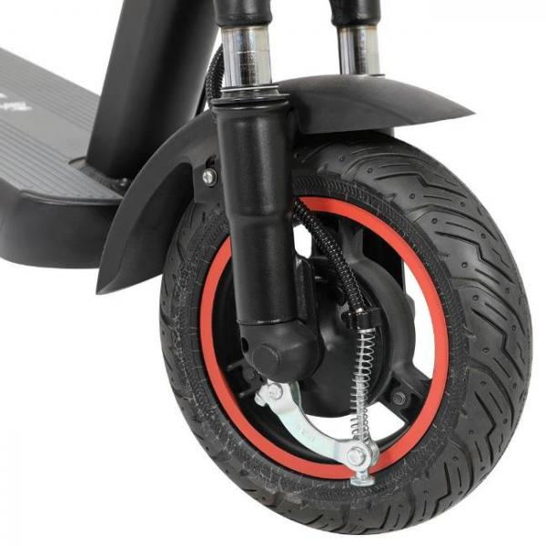 Easy foldable electric scooter - front tire
