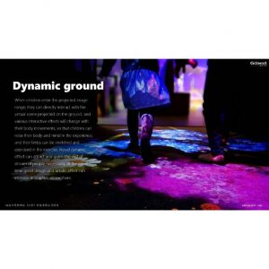 interactive projection floor with many games