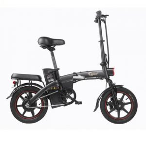 A5 e-bike with high mileage and easily foldable