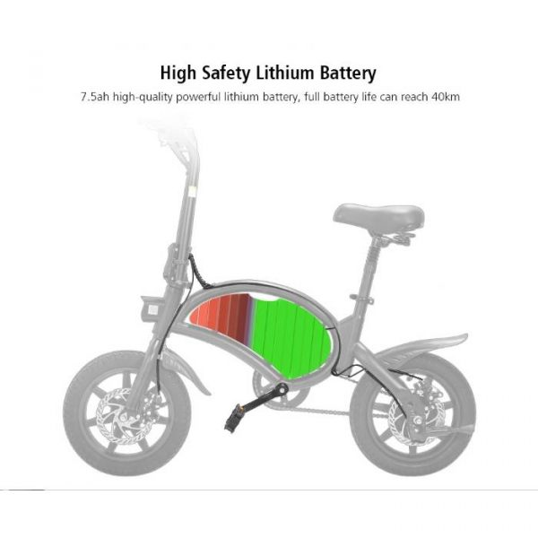 electric bike with strong headlinghts connected by smart APP