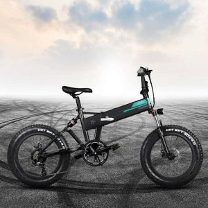 Fiido M1 Pro electric bike with big tires and high mileage