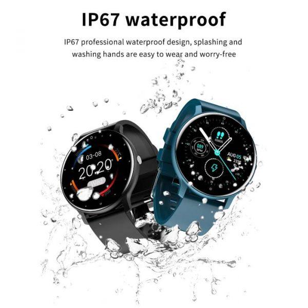 Waterproof Touch Screen Sport Fitness Smart Watch that is fully waterproof