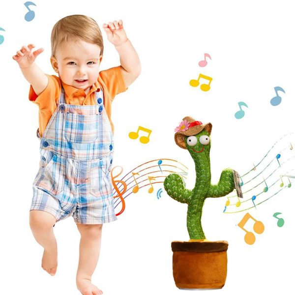 talking and dancing cactus that will make your babies dance