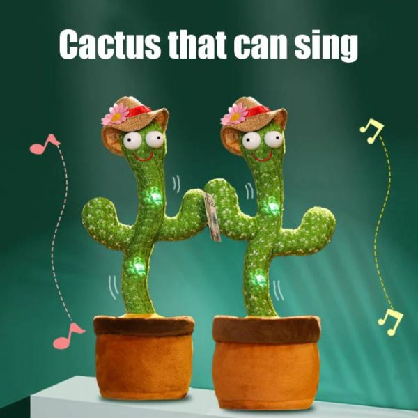 talking and dancing cactus that can sing