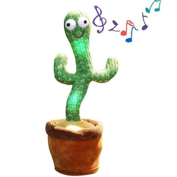 talking and dancing cactus with a lot of songs
