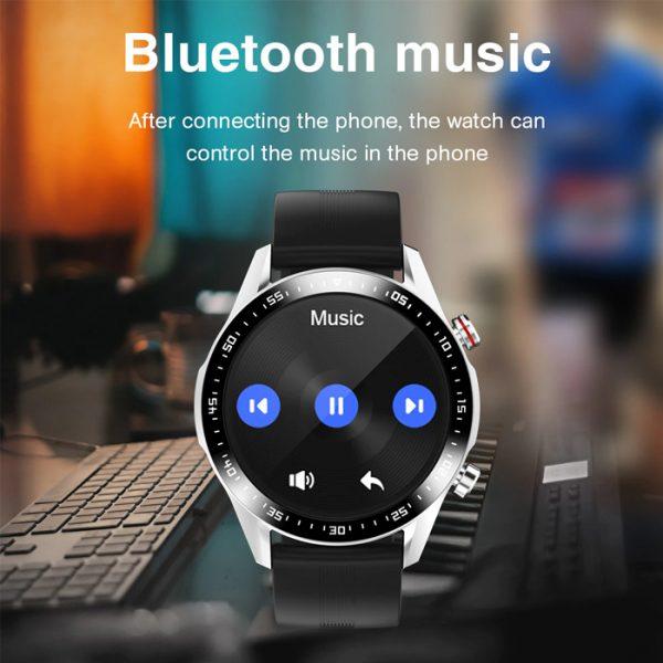 full waterproof sport smart watch with bluetooth music