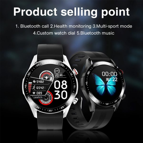full waterproof sport smart watch with product sell