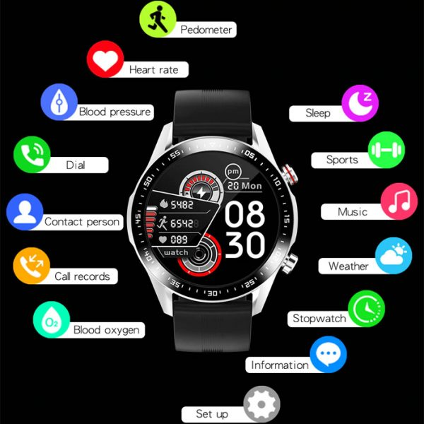 full waterproof sport smart watch with a lot of functions