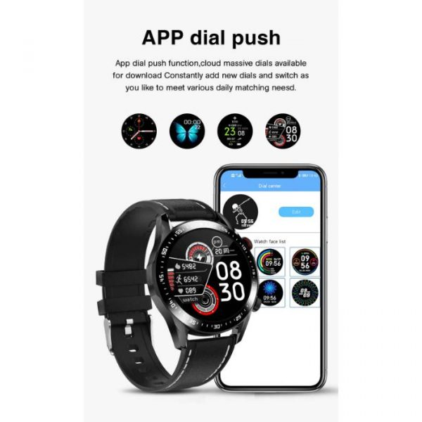 full waterproof sport smart watch with application dial push notifications