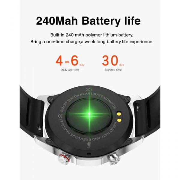full waterproof sport smart watch with huge capacity battery