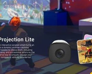 innvovative interactive system with camera and sensor